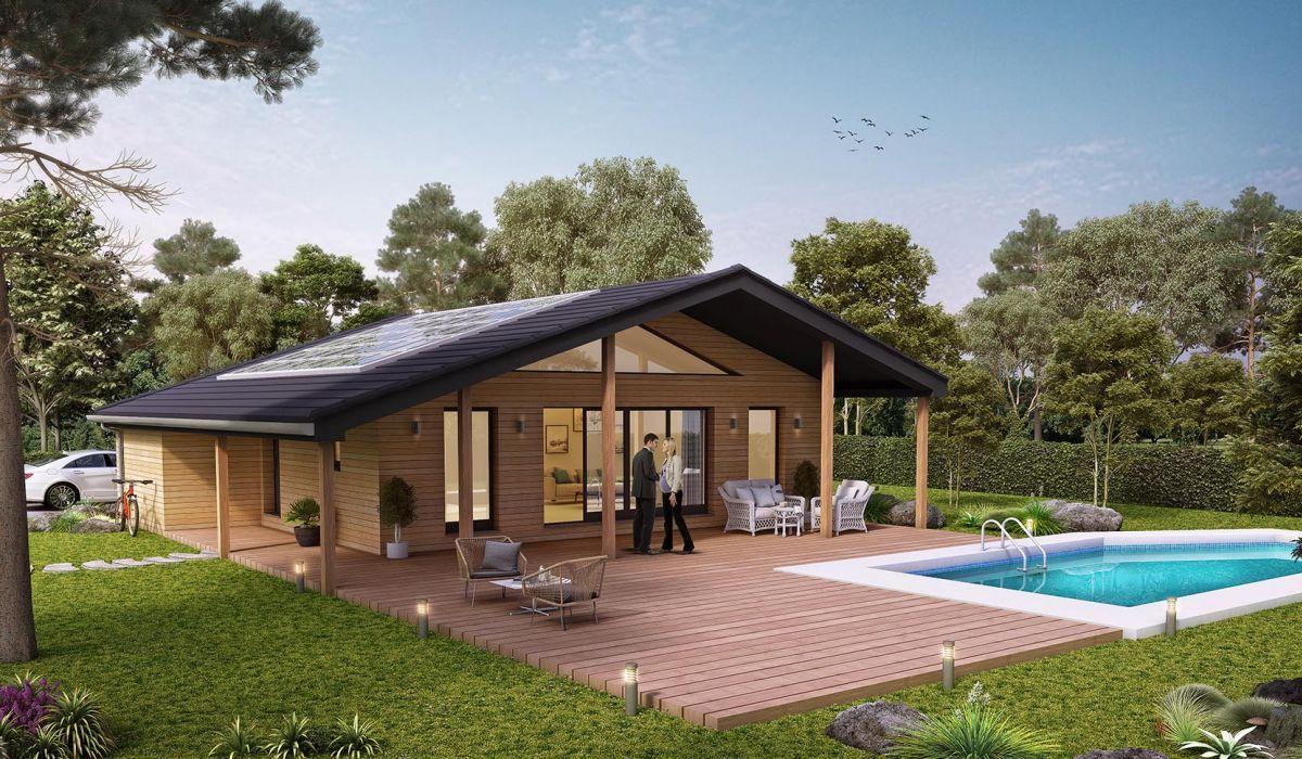 Constructeur Maison En Bois Loir Et Cher maison + terrain mimizan - 209000.00 € | ami bois