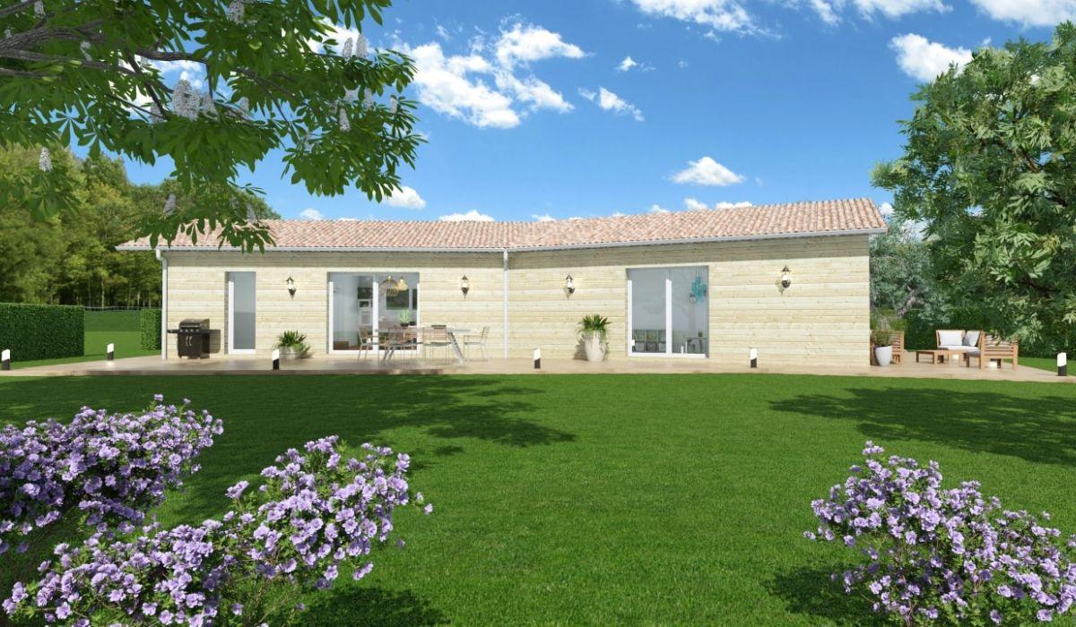 Constructeur De Maison Gers maison + terrain samatan - 191500.00 € | ami bois