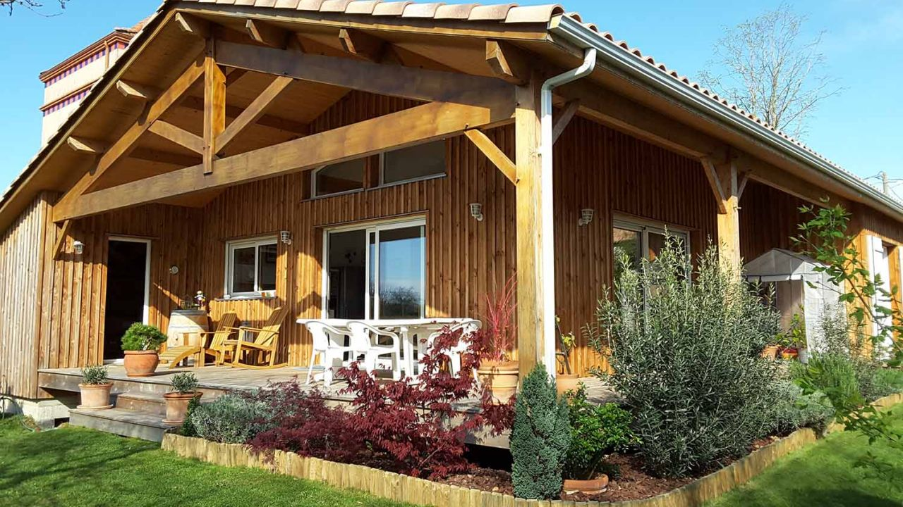 Maison En Bois Moselle modèle pacific   ami bois, constructeur de maisons en bois