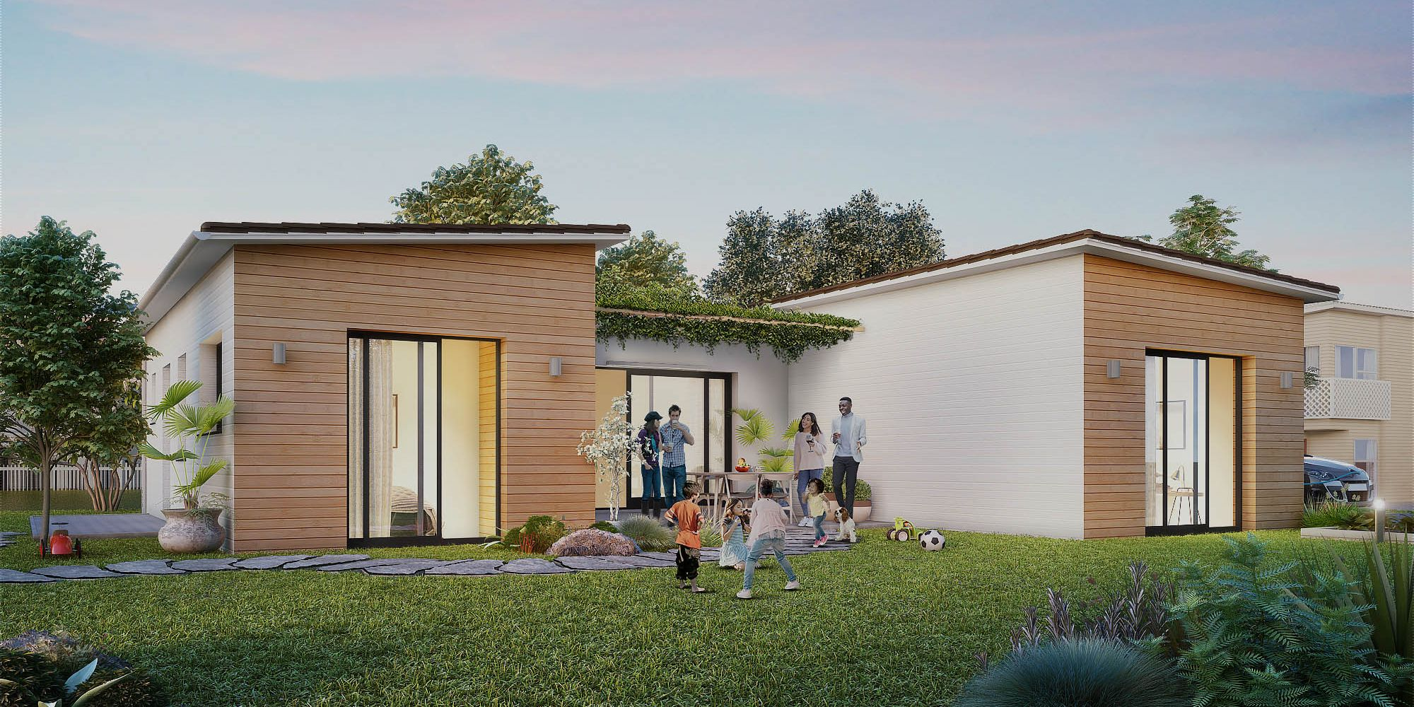 Constructeur De Maison Gers ami bois | constructeur de maisons en bois